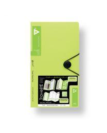 "3749-LM: KCK Play ""TravelitE"" Travel Pocket Folio - Lime"