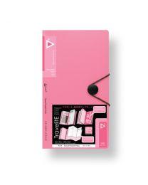 """3749-PK: KCK Play """"TravelitE"""" Travel Pocket Folio - Pink"""
