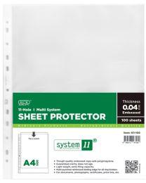 KCK A4 Sheet Protector 11-Holes - 411-100