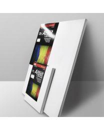 "CV C0808-075: KCK Stretched Canvas - 8"" x 8"""
