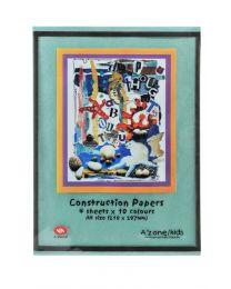 AZ 10908: Construction Paper - A4