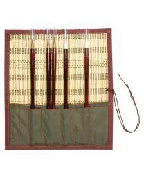 BH30: Bamboo Chinese Brush Holder
