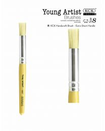 BR 468S-08: Young Artist Stencil Brushes #8