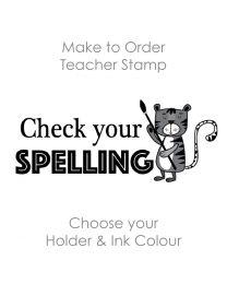 SPE001: Teacher Stamp English