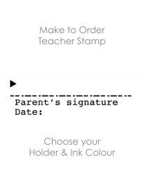 SPE004: Teacher Stamp English