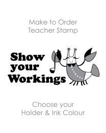 SPE006: Teacher Stamp English