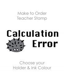 SPE009: Teacher Stamp English