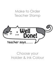 SPE013: Teacher Stamp English