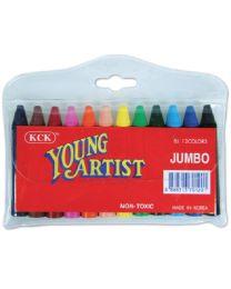 CRBJ12: Young Artist Jumbo Crayon 12's