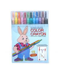CRBS121: KCK Twist-Up Crayons 12's