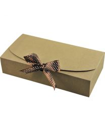 "GBBOX-L: Gift Box ""L"" 5's Ribbon included / Flat Pack"