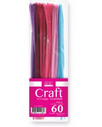 HC 6030-3: KCK Craft Pipe Cleaners Pink Hue 60's