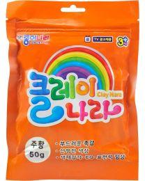 NR AJG00016: Nara Clay - Orange