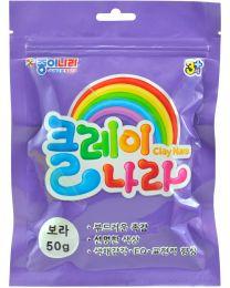 NR AJG00018: Nara Clay - Violet