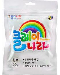 NR AJG00014: Nara Clay - White