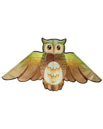 KT3OWL: Shaped Plastic Kite - Owl
