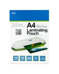 KCK A4 Gloss Laminating Pouch - LM4100
