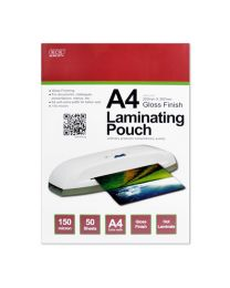 KCK A4 Gloss Laminating Pouch - LM4150