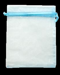 OG1316BL: Organza Draw String Bag