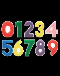 HC TL747: Hobby Craft Foam Stamp Number