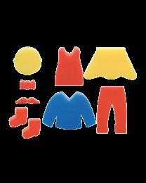 HC TL746: Hobby Craft Foam Stamp Large Human