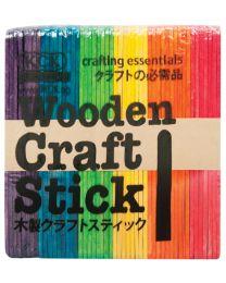 "HC 115C: Wooden Craft Stick ""Colours"""