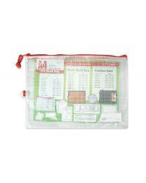 1010 Series PVC Mesh Bag - A4