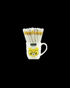 BP93BEAR: Gel Pens in Mug - Bear