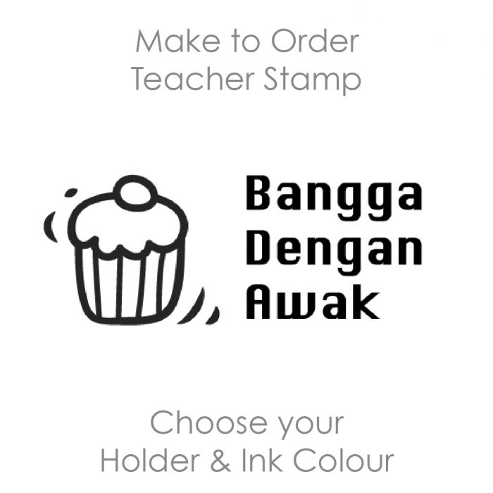 SPM018 Teacher Stamp Malay